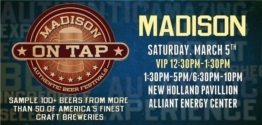 MADISON ON TAP CRAFT BEER FESTIVAL discount tickets