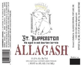 Buy Allagash St. Klippenstein Bourbon Aged Stout 750ml Online