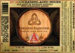 Buy Avery Brewing Certatio Equestris Series no. 38 12oz LIMIT 2 Online