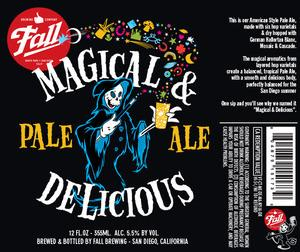 Buy Fall brewing Magical & Delicious Pale Ale 12oz Online