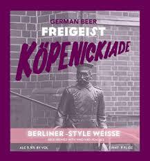 Buy Freigeist Kopenickiade Vineyard Peach 330ml Online