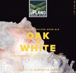 Buy Upland Brewing Company Oak & White 500ML Online