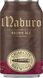 Buy Cigar City Brewing Maduro Brown Ale 12oz cans Online