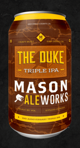 Buy Mason Aleworks The Duke 12oz Can Online