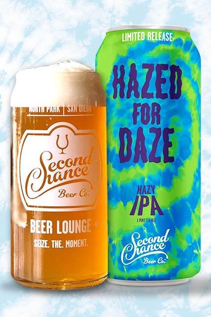 Buy Second Chance Beer Co. Hazed for Daze 16oz Can Online
