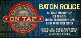 AMERICA ON TAP – BATON ROUGE discount tickets