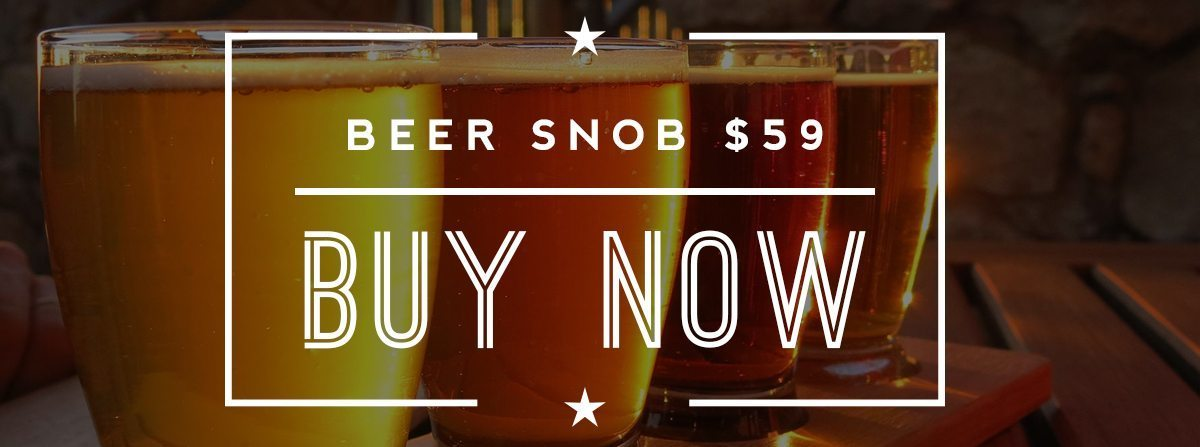 Beer SNOB craft beer club membership