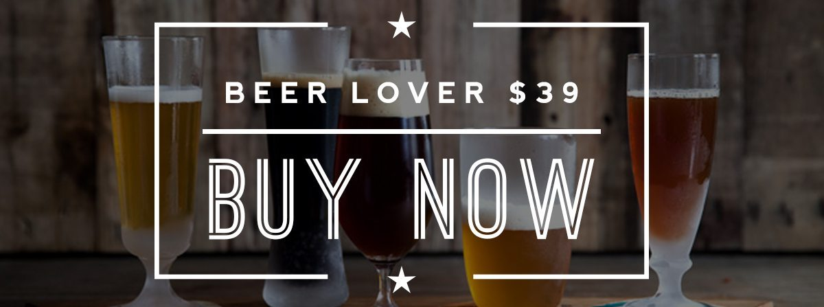 Beer lover craft beer club membership