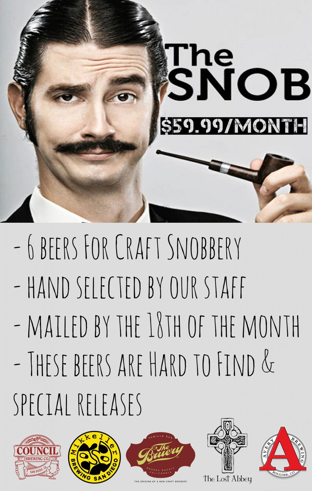 beer snob craft beer club