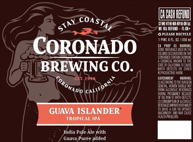 Coronado Brewing Guava Islander IPA