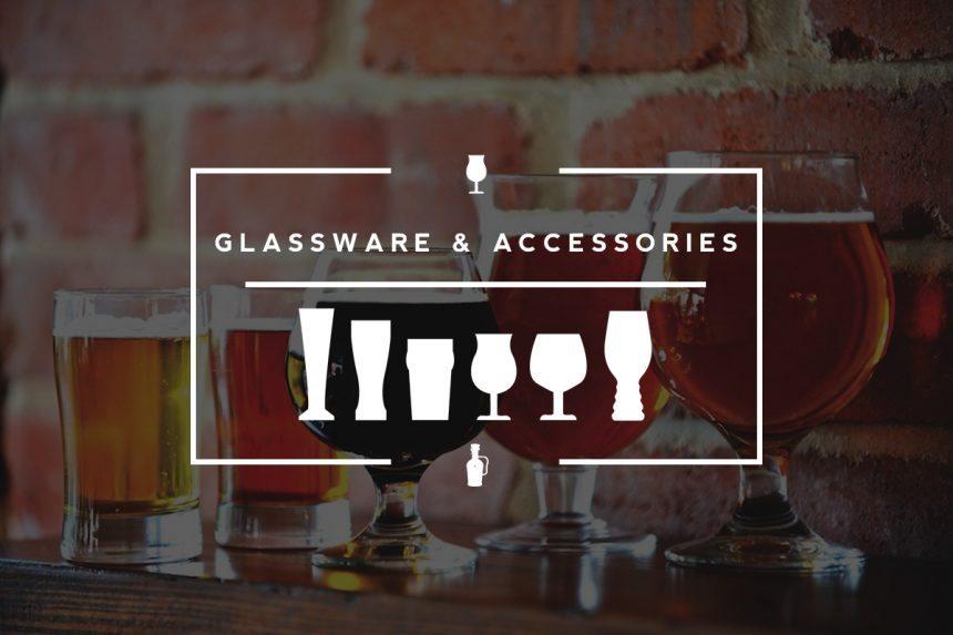 Craft beer glassware