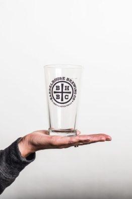 BarrelHouse 16oz Shaker Pint Glass