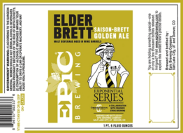 Buy Epic Crooked Stave Elder Brett Saison-Brett Golden Ale Online