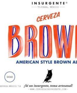 Buy Insurgente American Style Brown Ale 22oz Online