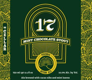 Buy Perennial Ales 17 Mint Chocolate Stout LMT 1 Online