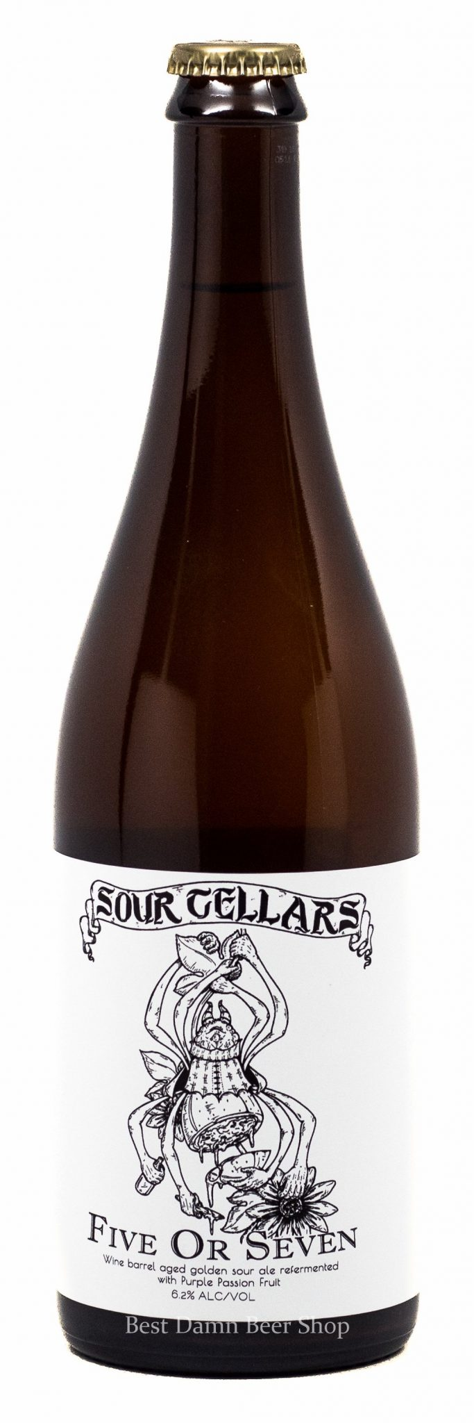 Buy Sour Cellars Five or Seven passion fruit 750ml Online