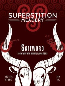 Buy Superstition Meadery Safeword 750ml Online