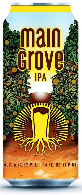 Buy Burgeon Beer Co Main Grove IPA 16oz Can Online